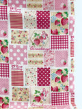 Patchwork - Pink - Very Cotton - Kokka