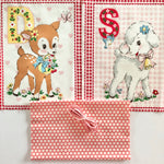Happy Baby Panel Drawstring Kit - Deer and Lamb