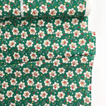 Retro 30's Child Smile 2019 - Flower Bouquet - Green - Lecien