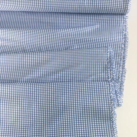 1/8 inch Periwinkle Carolina Gingham Check - Robert Kaufman