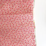 Strawberry and Bows - Pink - Very Cotton - Kokka