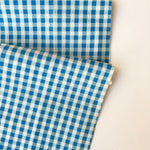 Gingham Check - Sky Blue - Live Life Collection - Yuwa