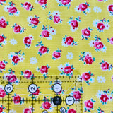 Retro Rose - Yellow - 30's Collection - Atsuko Matsuyama - Yuwa