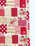Patchwork - Red - Very Cotton - Kokka
