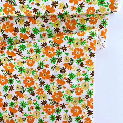 Vintage Floral - Orange - Sevenberry