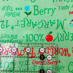 Language of Fruits - Green - Atsuko Matsuyama - 30's Collection - Yuwa