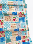 Patchwork - Blue - Very Cotton - Kokka