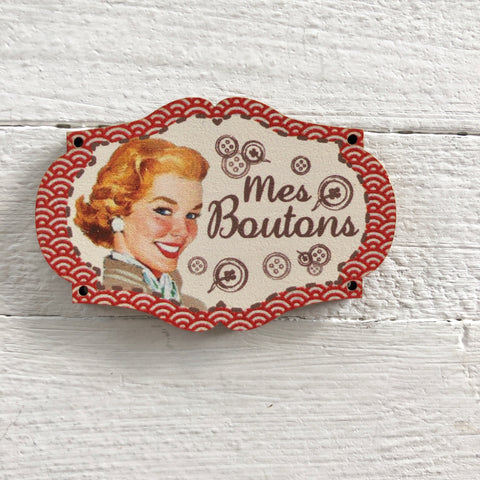 Atelier Bonheur du jour - Buttons - Advertisement - My Buttons - Red