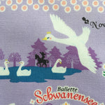November Books - Swan Lake - Push Pin - Purple - Kokka