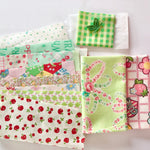 Apple Round Zipper Pouch Kit