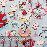 Hello Kitty Berry Town - Blue - Kiyohara