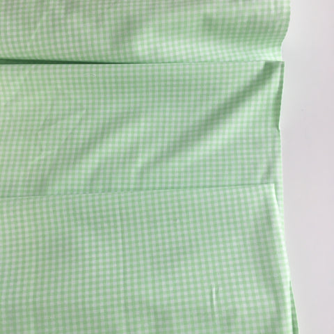 1/8 inch Mint Carolina Gingham Check - Robert Kaufman