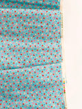 Strawberry and Bows - Blue - Very Cotton - Kokka