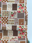 Patchwork - Brown - Very Cotton - Kokka