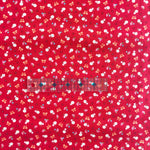 Strawberry and Bows - Red - Very Cotton - Kokka
