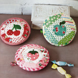 Strawberry Round Zipper Pouch Kit