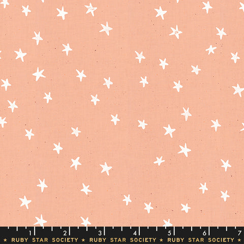 Darlings Starry - Peach - Ruby Star - Moda