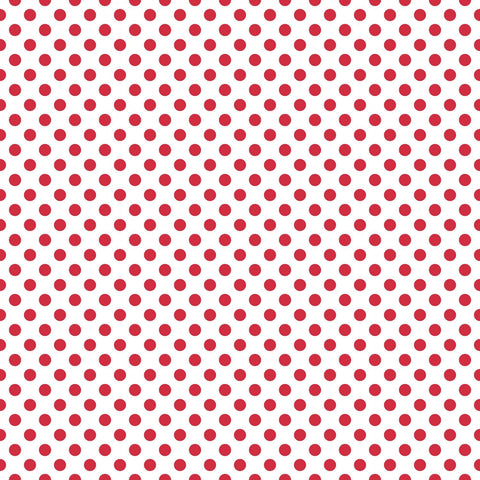 Basic Small Dot - Red - Riley Blake