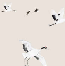 Birds in Flight Wallpaper - Stone