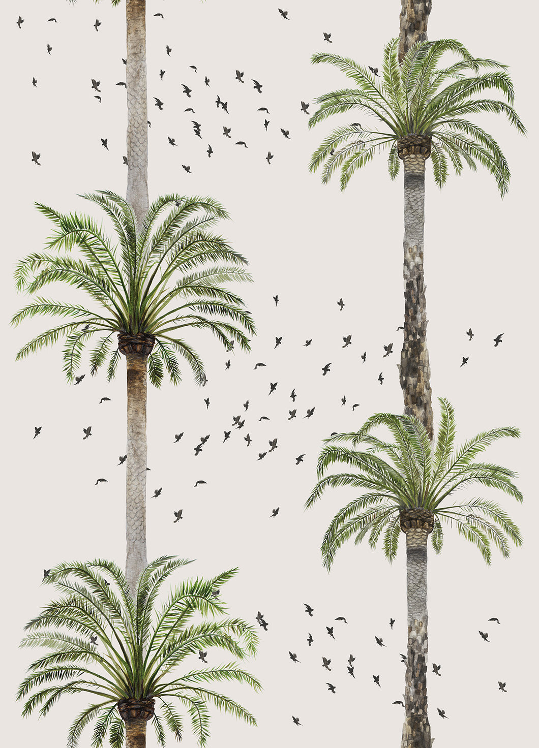 Palm Springs Wallpaper - Beige