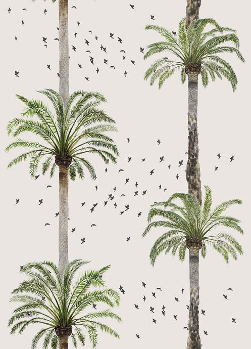 Palm Springs Wallpaper Samples - Beige