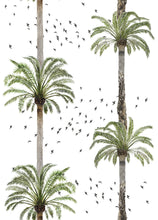 Palm Springs Wallpaper - White