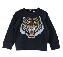 Children's Tiger Sweatshirt in Navy