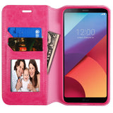 For LG G6 MyJacket Leather Flip Case Wallet Cover Stand Pouch with Tray