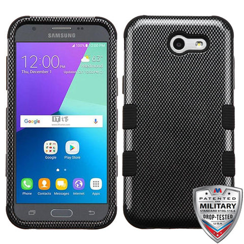 For Samsung Galaxy Express Prime 2/J3 TUFF Hybrid Phone Protector Cover Case