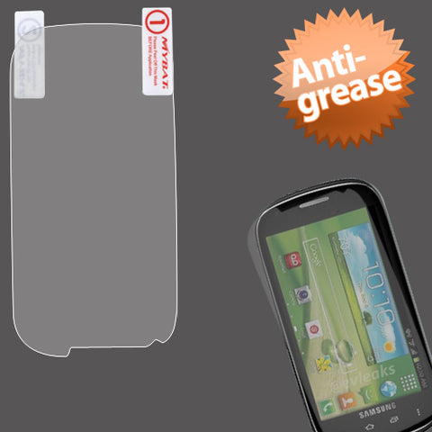 Clear Anti-grease LCD Screen Protector Cover SAMSUNG I415 Glxy Stratosphere II
