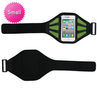 Small Vertical Pouch Sports Mesh Arm Band Phone Holder Mobile Device Cell