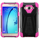 For Samsunge On5 Inverse Advanced Impact Armor Stand Protector Case Cover