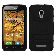 Impact Armor Rugged Protector Cover Case w/ Stand ALCATEL 7024W One Touch Fierce