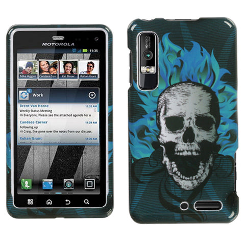 For XT862 Droid 3 Dark Evil Hard Snap On Phone Protector Cover Case