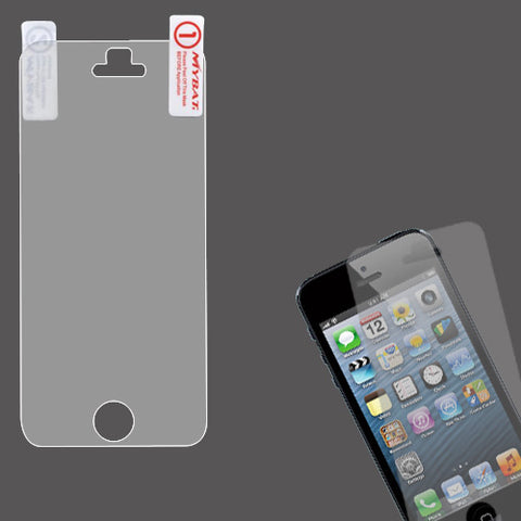 Clear LCD Screen Protetor Cover Film + Cloth Wipe for iPhone 5/5S/5C