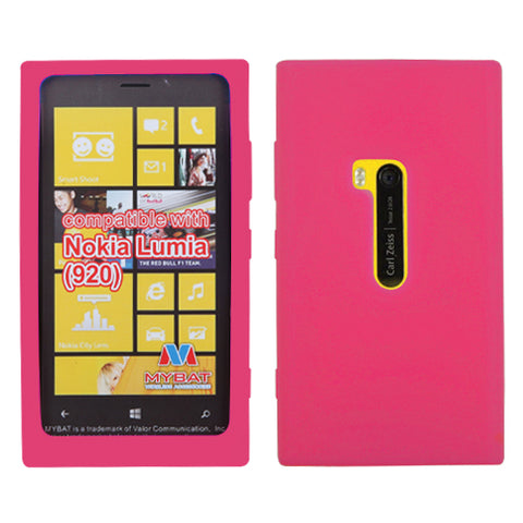 Solid Silicone Skin Cover Case for Nokia 920 Lumia