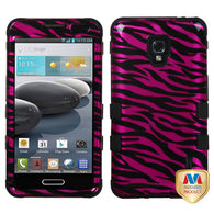 2D Design Case +Silicone Protector TUFF Cover for LG D500 Optimus F6