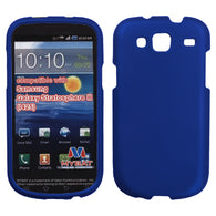For I425 Galaxy Stratosphere III Titanium Solid Dark Blue Phone Protector Cover
