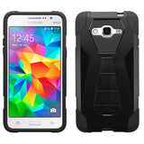 For G530 Galaxy Grand Prime Black Inverse Advanced Armor Stand Protector Cover