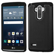 For LG G Stylo Dots TotalDefense Rugged Impact Armor Phone Protector Case Cover