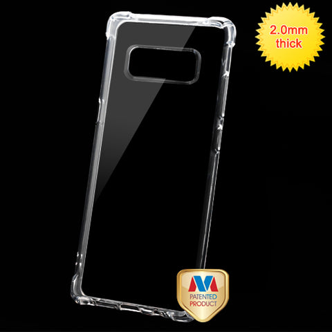 For Samsung Galaxy Note 8 Glassy Transparent Klarity Candy Skin Slim Case Cover