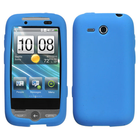 For Freestyle Solid Skin Silicone Protector Cover Case (Dark Blue)