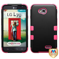 For LG Optimus Exceed 2 Impact Hard Hybrid TUFF Case +Silicone Protector Cover