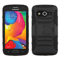 Advanced Armor Rugged Protector Cover Case +Stand for Samsung Galaxy Avant G386T