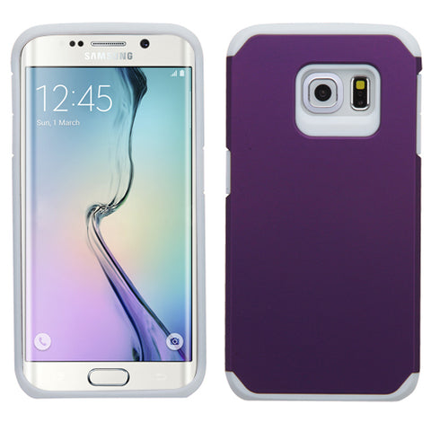 For G925 Galaxy S6 Edge Purple/White Astronoot Phone Protector Cover