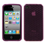 For iPhone 4s/4 Cube Silicone Candy Skin Protector Cover Case