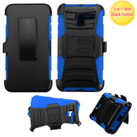 For Alcatel Tru/Stellar Advanced Armor Stand Protector Cover with Black Holster