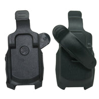 For Casio G'zOne Boulder C711 (Extended Battery) Black Swivel Belt Clip Holster