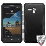 For Alcatel Fierce XL Natural TUFF Armor Hybrid Phone Protector Case Cover