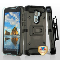 For Alcatel Walters A30 Plus 3-in-1 Kinetic Hybrid Protector Cover Combo Holster